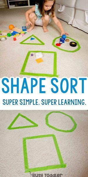 Shape Sorting Activity: Go Beyond Memorizing – #ac…