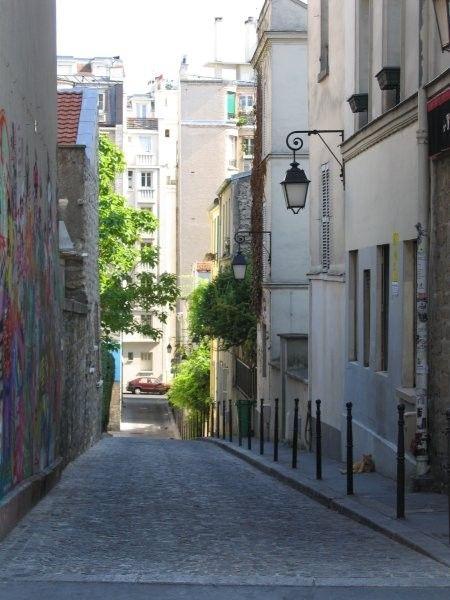 Buttes aux Cailles dans le 13eme arrondissement de Paris