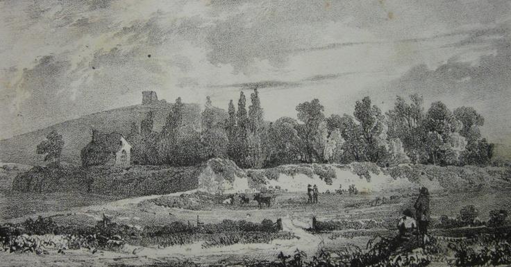 Chateau de Marais (Ivy Castle), 1826.