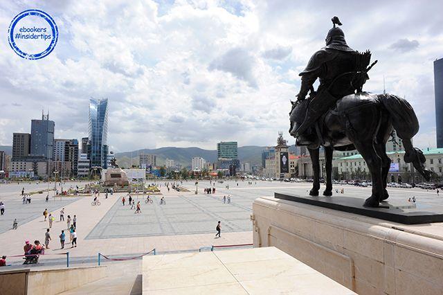 Ulan-Bator, die Hauptstadt der Mongolei #ebookers