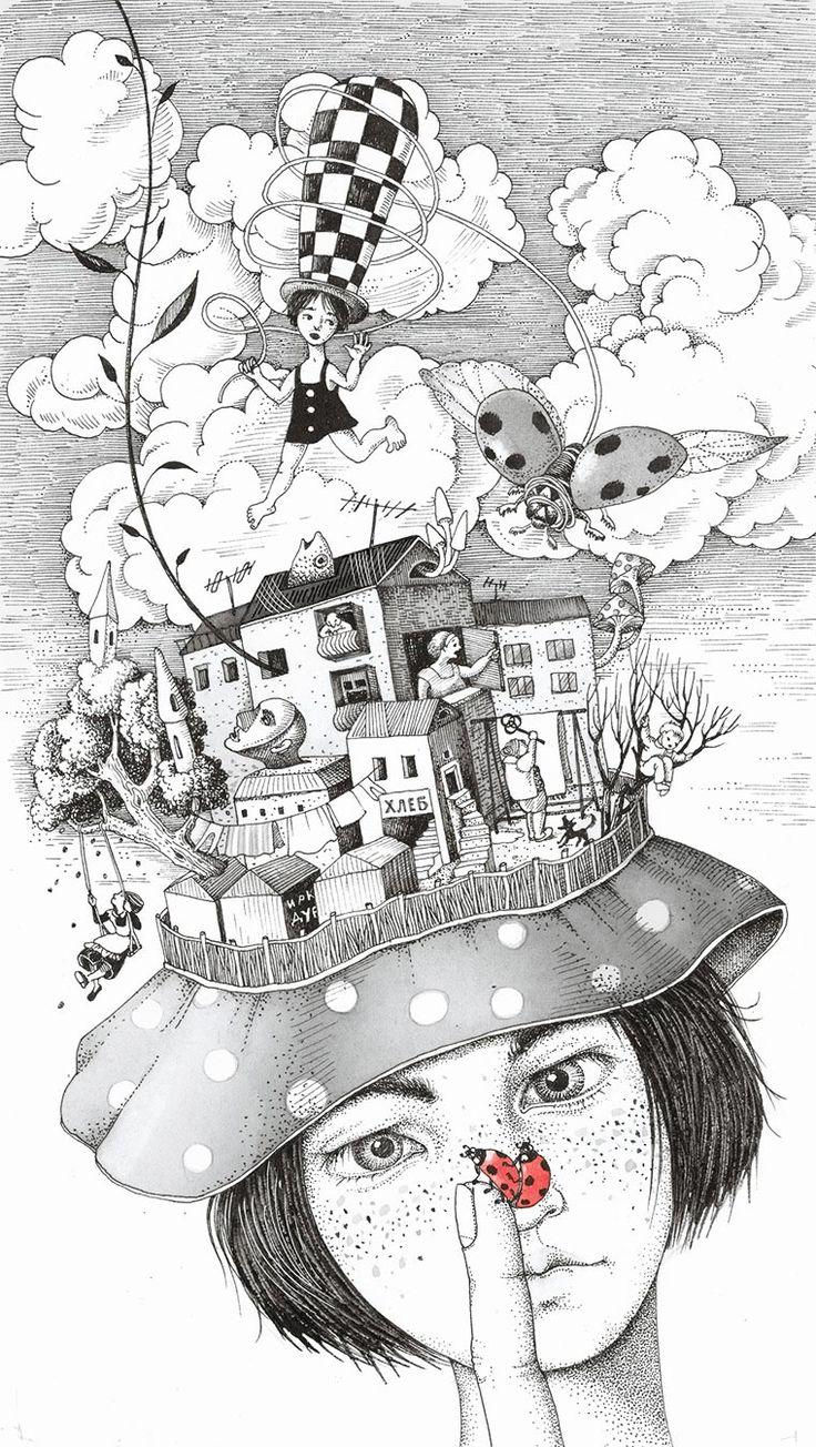 My childhood, de Sveta Dorosheva | Kireei, cosas bellas