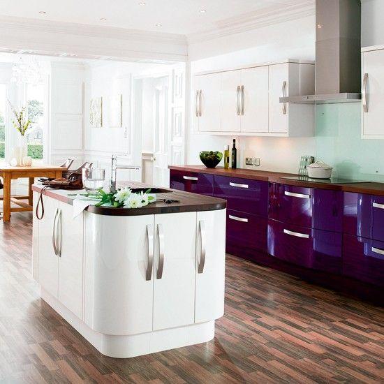 Kitchen Ideas Cream Gloss