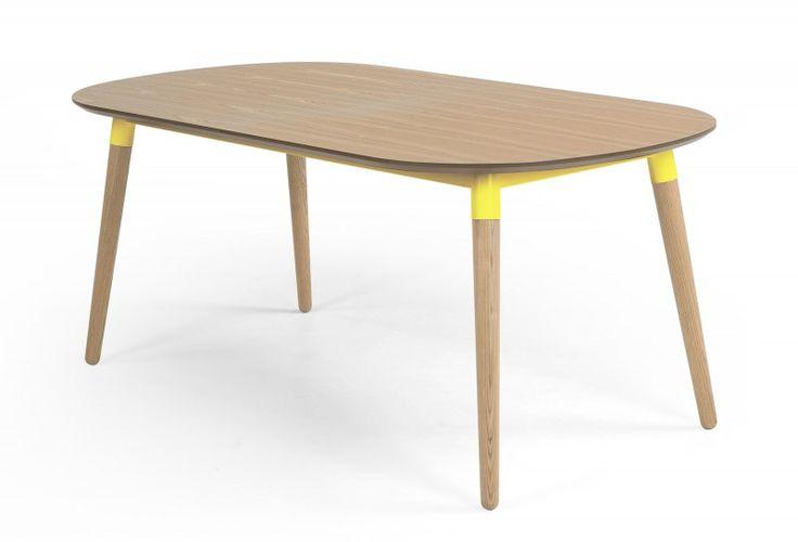Table à rallonges moderne en bois