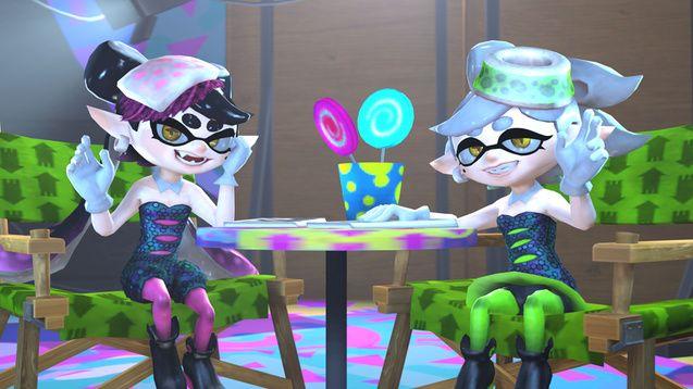splatoon squid sisters - Recherche Google