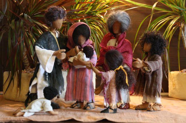 Biblische Erzählfiguren nach Doris Egli: Figurenfamilie