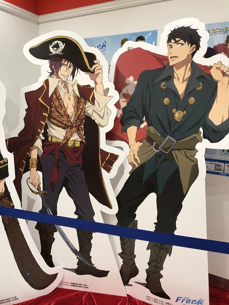 Finally I found this image || Sousuke's pirate wear