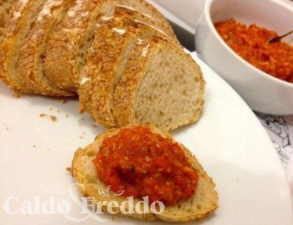 Sardella, um dos mais tradicionais antepastos italianos. Todas as dicas de como preparar lá no blog Caldo & Freddo