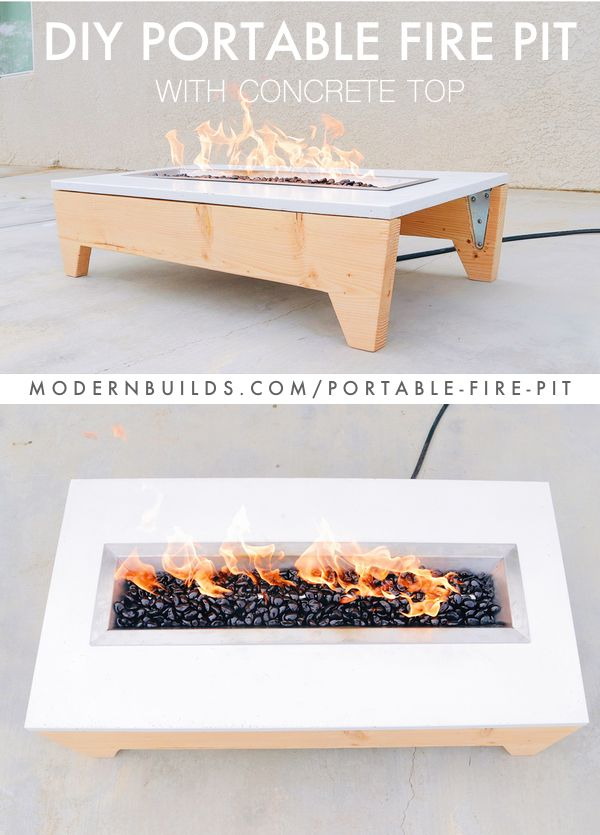 How To Build A Portable Concrete Fire Pit With Gfrc Glass