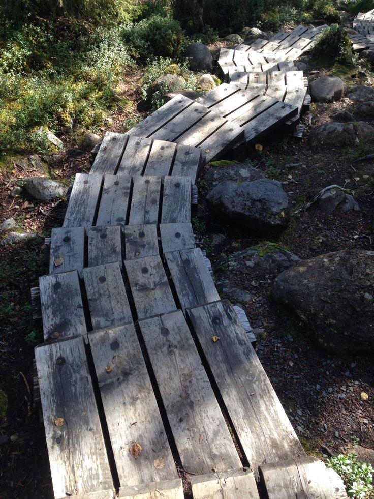 Lapland, Finland - near Juuma. Trail. Hike. Oulanka National Park.