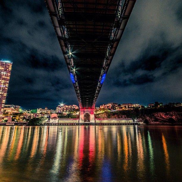 Beneath the Story Bridge, Brisbane http://www.queenslandholidays.com.au/things-to-see-and-do/story-bridge/index.cfm #thisisqueensland