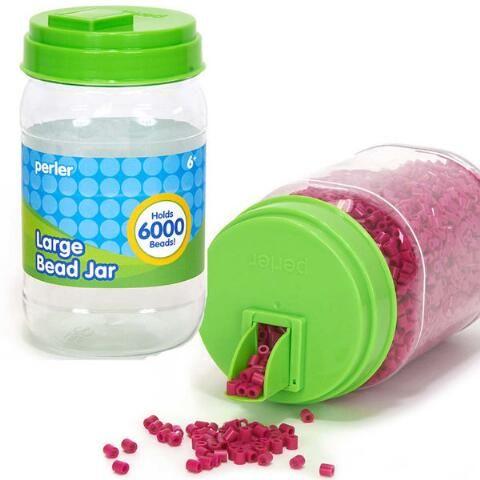 Perler® Beads Large Bead Storage Jar - Herrschners