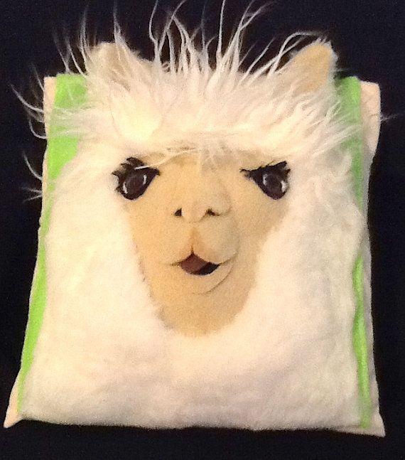 Soft Sculpture Llama Face  Original Design by unexpectedart, $50.00