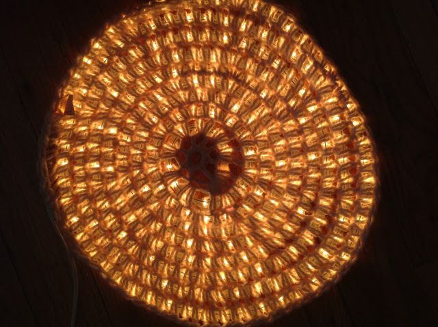 I completely stole this DIY from Wonder How To  after seeing their image on Pinterest.   You will need:  -A string of LED lights.  -Some th...