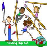 Writing Kids Clip art    $