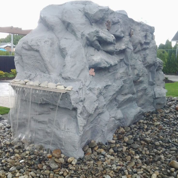 Best 25 pond waterfall kit ideas on pinterest diy waterfall rockywaterfall custom artificial rock waterfalls vancouver bc canada garden waterfalls do it yourself small backyard waterfalls how to build a solutioingenieria Gallery