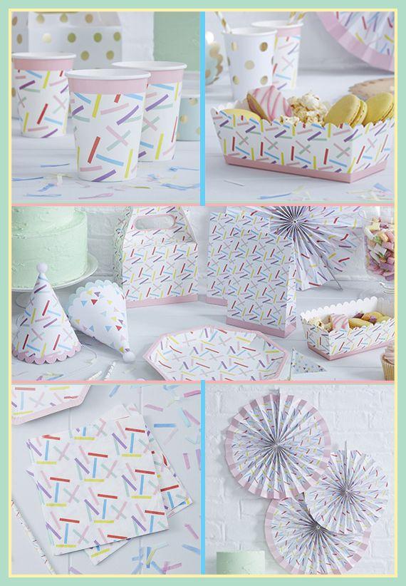 La Colección CONFETTI es una de las más versátiles de nuestra Shop, ya que es perfecta para decorar una fiesta de cumpleaños de niña, bebé, adulto... Además gracias a su mezcla de colores es súper fácil de combinar. Queda genial con rosas, azules, verdes, rojos... No lo dudes y apuesta por esta alegre colección para tu próxima fiesta!!  #fiestadecumpleaños #fiestasinfantiles #decoracionfiestas #decoracionfiestasinfantiles #decoracioncumpleaños #fiestaconfeti #deoraciónfiestasbebe…