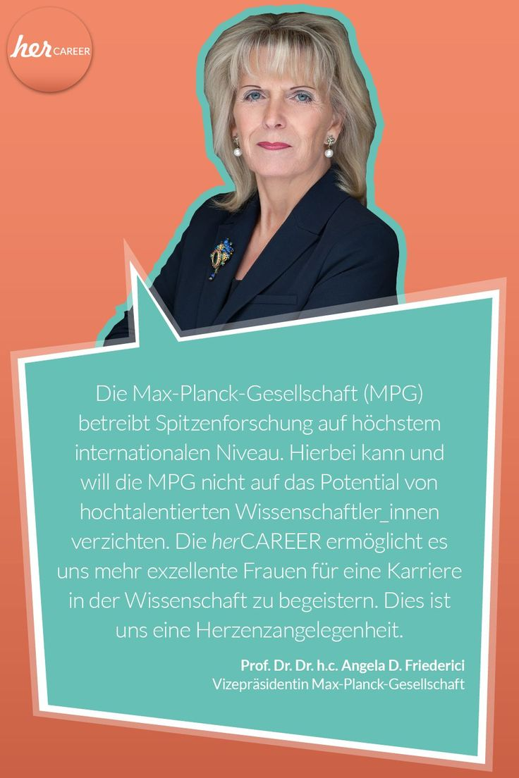 """""""Dem Anwenden muss das Erkennen vorausgehen."""" – Max Planck.    Die Max-Planck-Ge… – herCAREER"""
