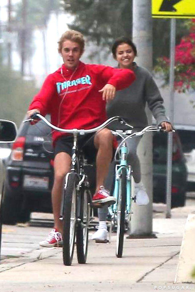 Selena Gomez and Justin Bieber Out in LA November 2017   POPSUGAR Celebrity