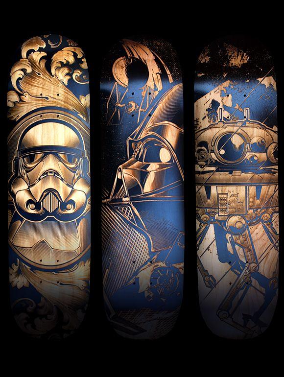 Star Wars Skateboards - Created by Joshua Smith