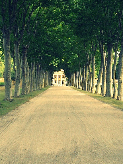 Chateau Margaux, one of the great French wine chateaux near Bordeaux