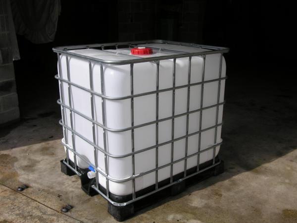 Cuve de stockage de l'eau