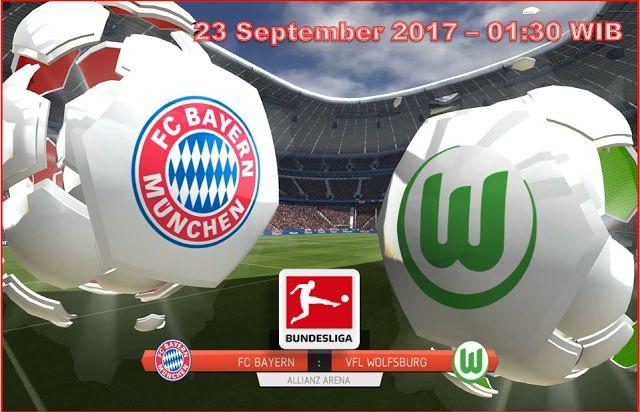Prediksi Skor Bayern Munchen Vs Wolfsburg 23 September 2017