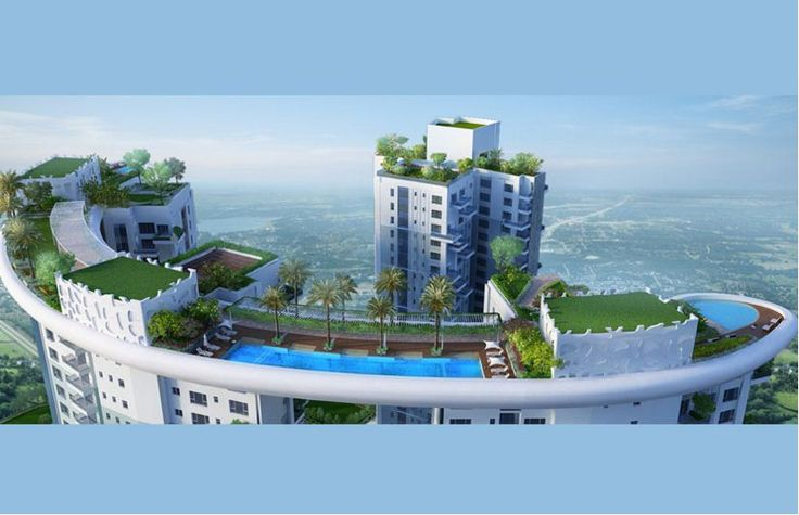 Siddha Sky Megh Mani, Premium high rise residential building coming up off EMBYPASS. call 9830272666 for booking or visit www.sidusrealty.in