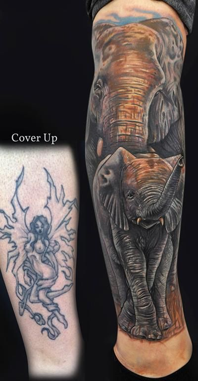 I would love to get this elephant on me
