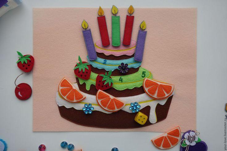"""Купить Развивающая игрушка """"Магазин сладостей"""", возраст  2,5+ - розовый, мороженое, пирожное, торт"""