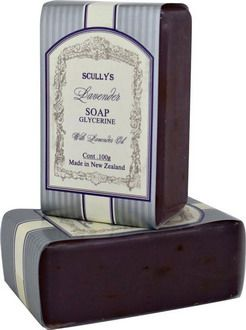 Lavender Glycerine Soap $4.80 NZD Fragrant and long lasting glycerine based soap to help protect and hydrate dry skin. Made with essential oil of Lavender and Lavender flowers.