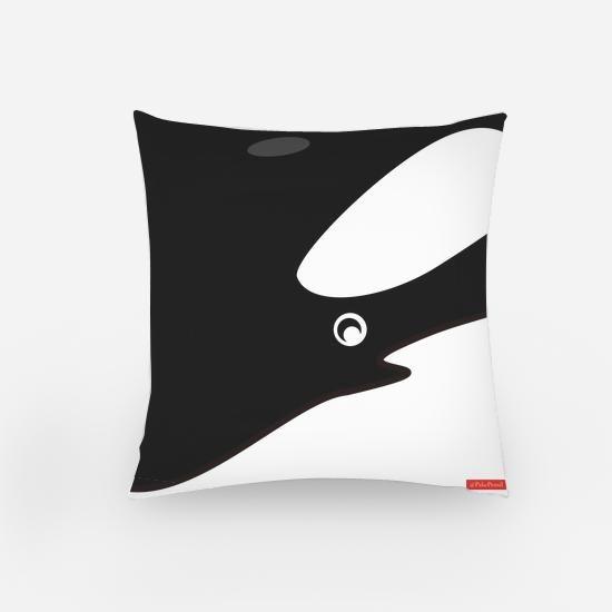 Killer Whale / Orca Pillow Bantal Orca Paus Pembunuh
