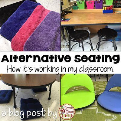 Alternative Seating - My Journey So Far - Second Grade Stories