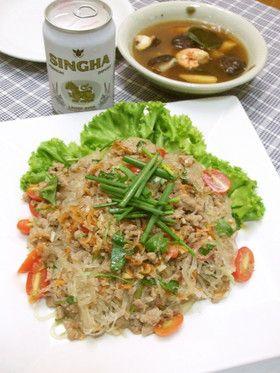ヤム・ウン・セン@タイの春雨サラダ by シュルツィ [クックパッド] 簡単おいしいみんなのレシピが253万品