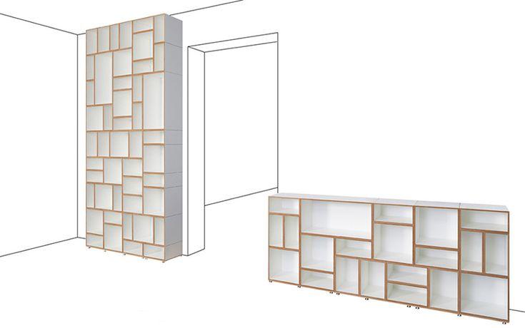 great re-arrangeable furniture series by stocubo.de