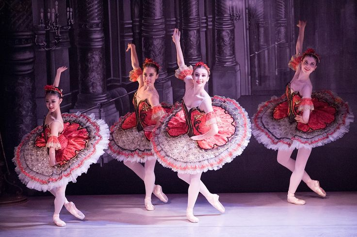 Students of The Australian Ballet School performing Pacquita. Photography Jim McFarlane