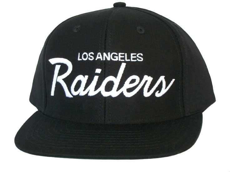 Los Angeles La Raiders Script Snapback Hat Nfl Cap