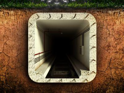 Abandoned Subway - #iOS #Icon