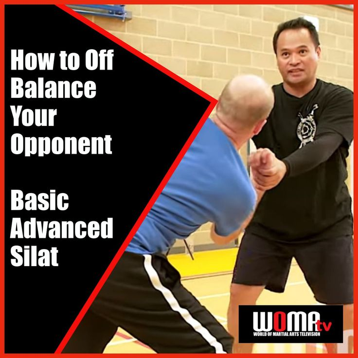How to off balance your opponent basic advanced silat