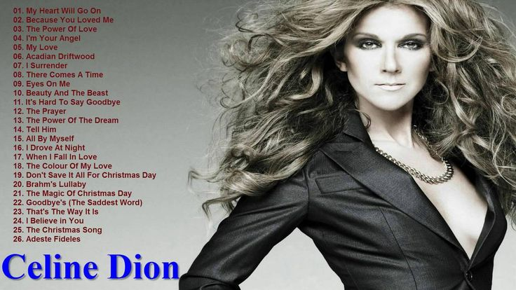 Best Songs Of Celine Dion - Celine Dion's Greatest Hits 2016 [HD/HQ] - YouTube