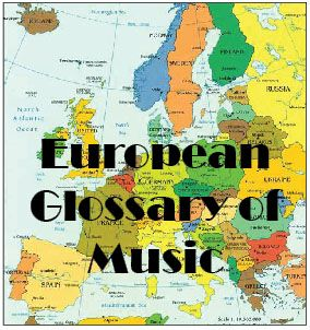 European Glossary of Music - eTwinning project developed in 2010-2011 between 26 European countries. It's a music word glossary in 28 European languages.