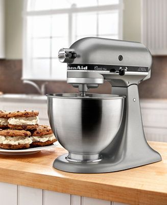 Macy's has the best deals on these KitchenAid Mixers! Best prices seen online! KitchenAid KSM75SL 4.5 Qt. Classic Plus Stand Mixer