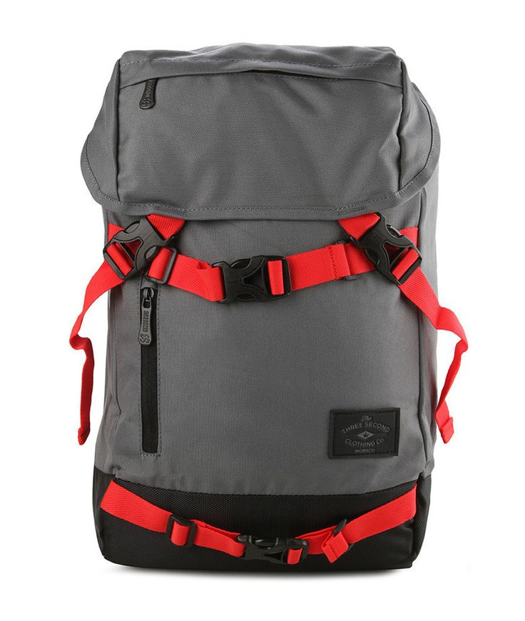 Jammer Backpack by 3 Second. This bag ready to complete the journey traveling with a collection bag. Jammer Backpack, bag with spacious compartments and webbing detail contrasting colors.  http://www.zocko.com/z/JJpUi