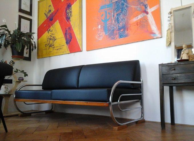 retro modern interior, Czechoslovakia design, functionalist furniture,