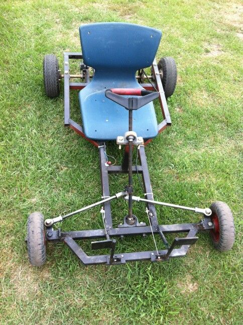 how to build a wooden go kart with bike wheels