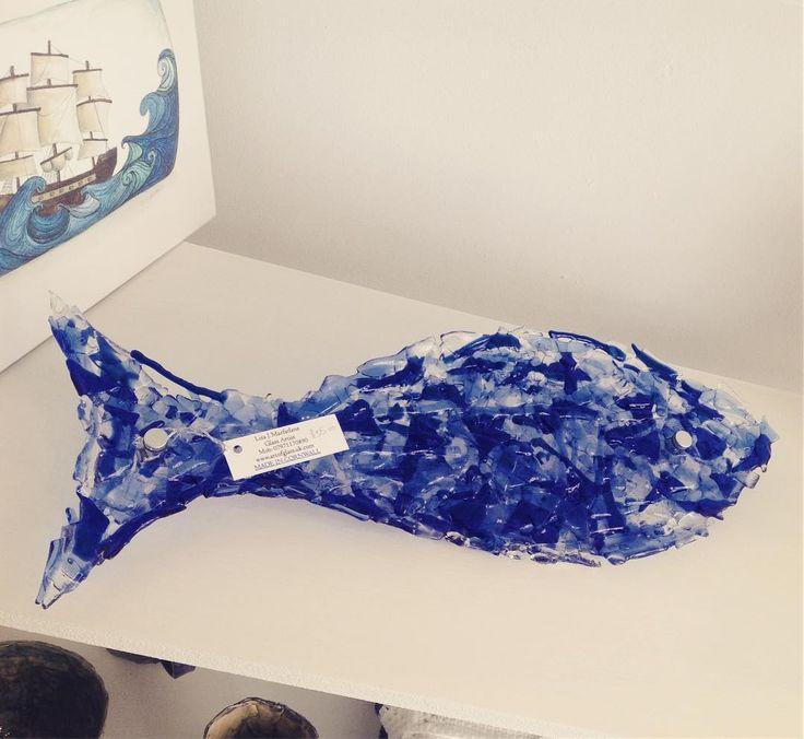 Beautiful glass fish #glassart #artofglass