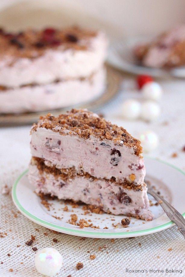 Lichte fruit cake, zonder bakken! mmmmmmmm