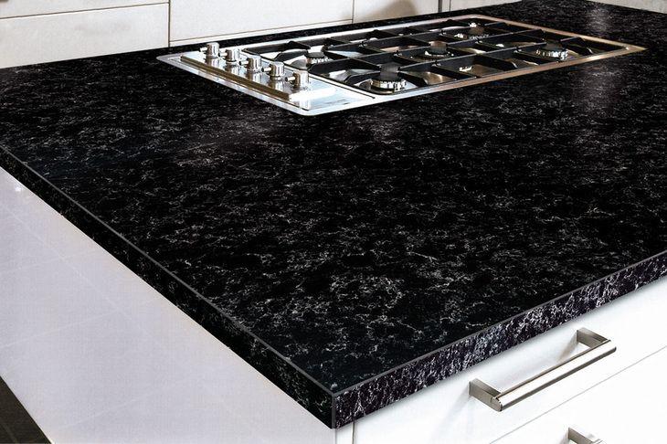 Quartzforms kitchen - veined africa
