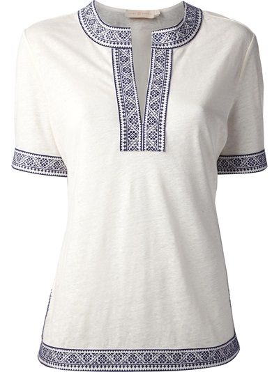 TORY BURCH - Brinda tunic top 6
