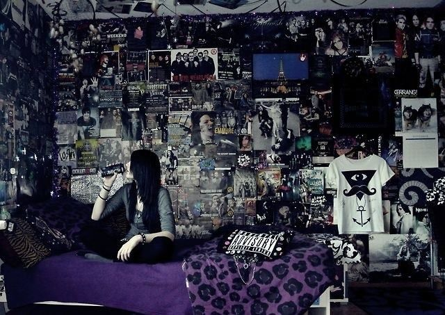 25 best ideas about Punk Bedroom on