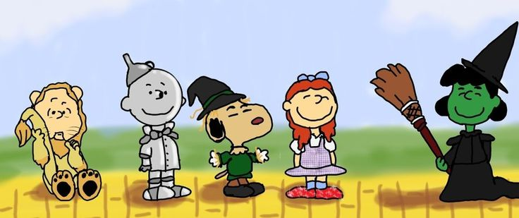 My two favourite things put together! Snoopy and Oz!!!